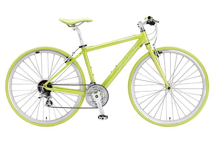 Lime Fuji Racing Bikes